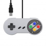 Controle Super Nintendo Snes Usb Para Pc Mac Linux Raspberry