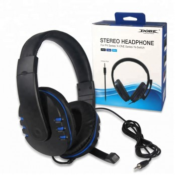 Fone Headset Com Microfone Ps4 Slim Pro Xbox One Nintendo Switch