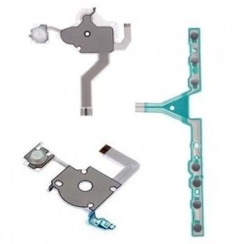 Kit Flat c/ LED P/ Botão Psp 3010 - 100% Novo